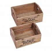 Set ladite lemn Home