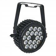 Showtec Compact Par 18 MKII negro 18 x 3W RGB-in-1 LED