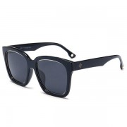 rosegal Mirrored Anti UV Wide Frame Sunglasses