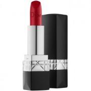 Dior Rouge Dior луксозно овлажняващо червило цвят 999 Matte 3,5 гр.