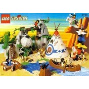 Lego (Lego) 6748 Boulder Cliff Canyon (Western) Block toy (Parallel import)