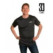 Wiley X WileyX Active T-Shirt (Färg: Grå/Signalgrön, Storlek: 3XL)