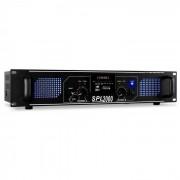 Skytec SPL-2000-MP3 DJ PA-Verstärker 2-Kanal Endstufe 2 x 1000W USB-SD-MP3-Player