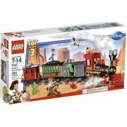 LEGO Toy Story 3 Wild West Treinachtervolging - 7597