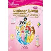Dictionar ilustrat englez-roman cu printese Disney/***