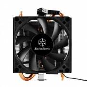 Silverstone Krypton CPU cooler SST-KR01,Low Profile,80mm PWM,AM2/AM3/AM4/FM1/FM2