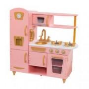 Bucatarie pentru copii Limited Edition Vintage Pink and Gold - KidKraft
