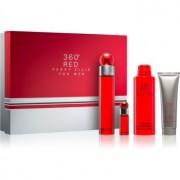 Perry Ellis 360° Red lote de regalo II. eau de toilette 100 ml + desodorante en spray 200 ml + gel de ducha 90 ml + eau de toilette 7,5 ml