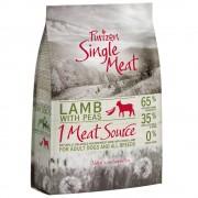 1кг Single Meat Adult Purizon, суха храна за кучета - агнешко с грах без зърно