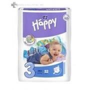 BELLA BABY HAPPY MIDI BIG PACK 5-9 KG 72 db/cs