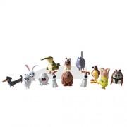 BIGOCT The Secret Life of Pets Mini Pets Collectible Figures Action Figure