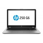 HP Notebook 250 G6 i7-7500U / 15.6 FHD SVA AG / 8GB 1D DDR4 / 256GB with Connector / W10p64 / DVD-Writer / 1yw / kbd TP / Intel 3168 AC 1x1+BT 4.2 /Asteroid Silver IMR with VGA Webcam (QWERTY)