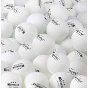 50 Count Kevenz 3-star White Tournament Table Tennis Ball Ping Pong Balls