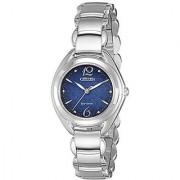 Citizen Analog Blue Dial Womens Watch - Fe2070-50L