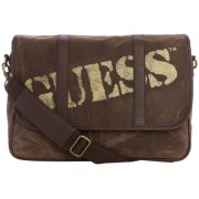 GUESS Outback Flap Messenger Brown