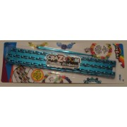 Cra-z-loom Metallic Madness - BLUE - Rubber Band Bracelet Loom & Hook