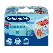 Plåster Salvequick Aqua Block Kids 12/FP 12frp