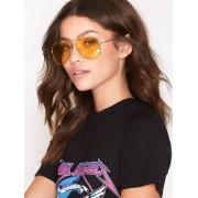 NLY Accessories Pilot Sunglasses Solglasögon Gul