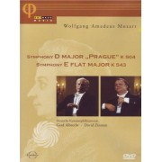 Video Delta Mozart - Symphony D major 'Prague' k 504 - Symphony E flat major k 543 - DVD