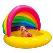 Piscina cu acoperis copii Rainbow