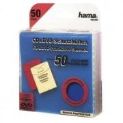 Hama CD/DVD Protective Sleeves 50 50dischi Multicolore