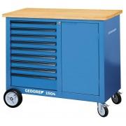 Etabli mobile avec 9 tiroirs - 1504 0810