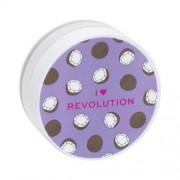 Makeup Revolution London I Heart Revolution Loose Baking Powder 22 g jemný púder pre zmatnenie a fixáciu make-upu pre ženy Coconut