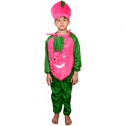 AD LITCHI DRESS Kids Vegetable Litchi Costume fancy dress LITCHI COSTUMES USE FOR SCHOOL COMPETETIONS EVENTS ANN