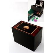 Juego mesa poker dados 100 fichas modelo CCW01016