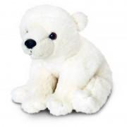 Ursulet de plus polar Keel Toys, 30 cm, 3 ani+