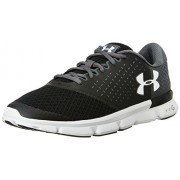 Under Armour Men's UA Micro G Speed Swift 2 Black, Rhino Grey and White Running Shoes - 11 UK/India (46 EU)