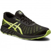 Обувки ASICS - FuzeX Lyte T620N Black/Safety Yellow/Onyx