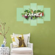 Impression Wall SUMMER PVC Printed Wall Sticker