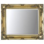 Gold Swept 40x30 Bevelled Mirror