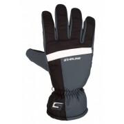 Starling Skihandschoenen Taslan Unisex Grijs/Zwart Maat 10