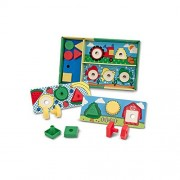 MELISSA & DOUG SORT MATCH ATTACH NUTS & BOLTS (Set of 3)