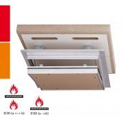 RUG Semin Alumatic F/EI30 Revisionsklappe - 2 x 12,5 mm - 400 x 400 mm
