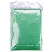 Child Green Disposable Ponchos