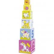 Goki Cubes gigognes bébé Goki les Amis de Susibelle - Jouets Goki