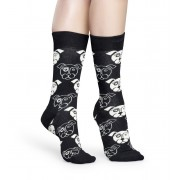 Șosete pentru femei Happy Socks Dog DOG01-9000