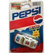 DIET PEPSI Diecast NASCAR #38 Racing PETER COMBA Race Car (1993)