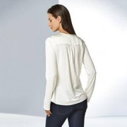 Strenesse shirtblouse, 40 - offwhite
