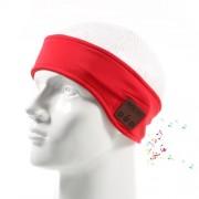 Bluetooth спортна зимна лента - червена