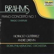 J Brahms - Piano Concerto No.1/ Tragi (0089408025228) (1 CD)