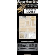 HGW 1:32 Seatbelts Arado Ar 196 for Revell PE Printed Detail Set #132031
