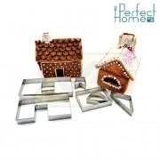 Perfect Home 12403 Mézeskalács ház kiszúró készlet 7 db