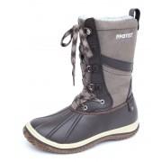 bottes d`hiver pour femmes - PROTEST - 260 BROWN FABRIC