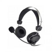 """Casti A4TECH Comfortfit microfon pe casca, control volum pe fir, """"HS-7P"""" EAN 4711421695787"""