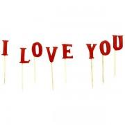 Set lumanari I LOVE YOU