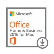 MICROSOFT OFFICE Home and Business 2016 for MAC, licenta electornica - ESD, All languages, FPP